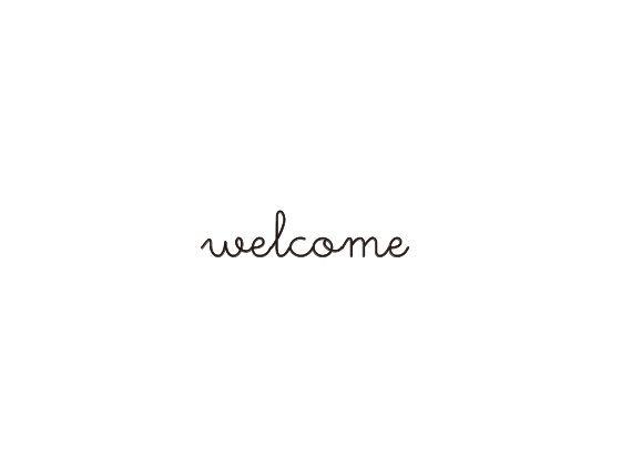 ウェディングスタンプ メッセージ(welcome) WD-85