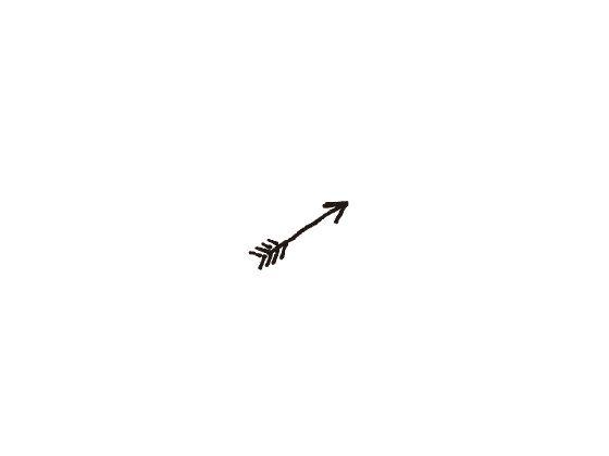 ウェディングスタンプ プチスタンプ 矢