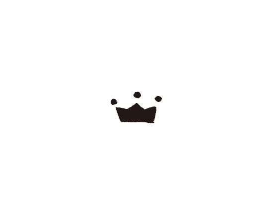 ウェディングスタンプ プチスタンプ 王冠