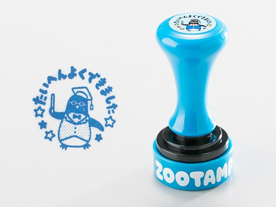 ZOOTAMP TA-ZT-2 ペンギン インク/ブルー